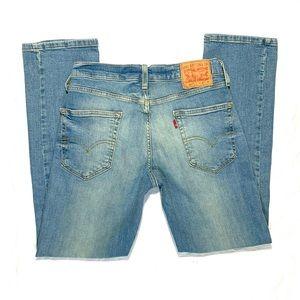Levi's 514 Straight Leg Jeans Size W30 L30